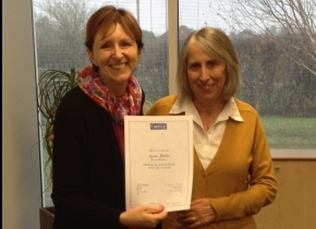 Lynne CUAT Certificate