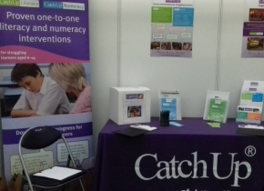 Catch Up conference stand